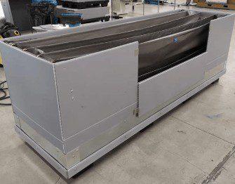 wi-sales ThorPak Quattro 2650   Transport für Messebau Möbelvertäfelung Bauprofile   mit 2 Lagen Textilsystem - Anfahrschutz Metall