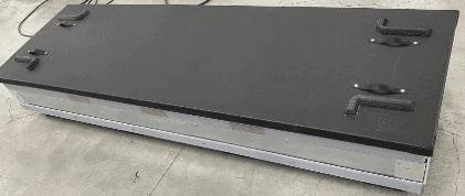 wi-sales ThorPak Quattro 2650 | Transport für Messebau Möbelvertäfelung Bauprofile | mit 2 Lagen Textilsystem - Paletten Sicherung