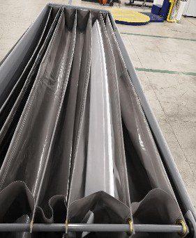 wi-sales ThorPak Quattro 2650   Transport für Messebau Möbelvertäfelung Bauprofile   mit 2 Lagen Textilsystem