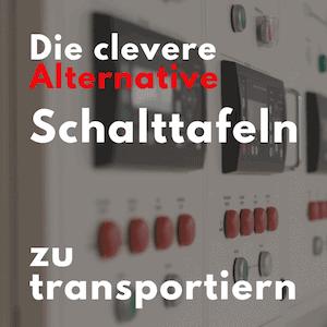 Transportbehälter für Schalttafeln als Grossladungsträger Ladungsträger Sonderladungsträger für Maschinenbau und Elektrotechnik