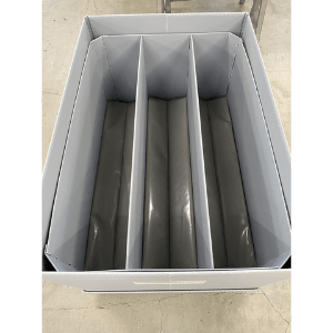 Transportbehälter für Schalttafeln als Grossladungsträger Ladungsträger Sonderladungsträger für Maschinenbau und Elektrotechnik für 3 Schalttafeln wi-sales GmbH